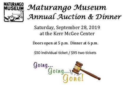 Annual Dinner & Auction - Saturday, September 28, 2019
