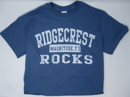 Ridgecrest Rocks T-shirt Denim