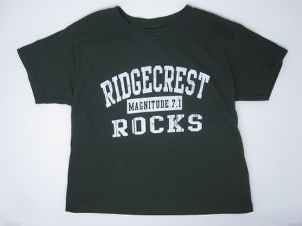 Youth Ridgecrest Rocks T-shirt - Green