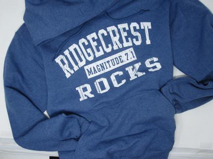 Ridgecrest Rocks pullover hoodie