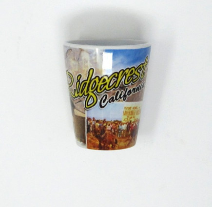 Ridgecrest Souvenir shot glass