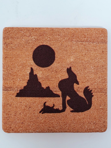 Coyote Wonderstone Coaster