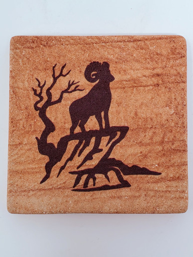 Bighorn Sheep Wonderstone Coaster