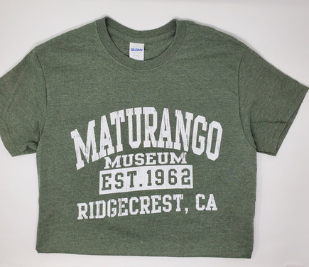 Maturango Museum T-Shirt Olive