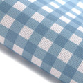 Blue Gingham - Patterned Cross Stitch Fabric