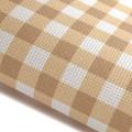 Stone Gingham - Patterned Cross Stitch Fabric