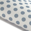 Blue Polka Dots - Patterned Cross Stitch Fabric