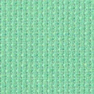 Caribbean Sea Solid Color Cross Stitch Fabric