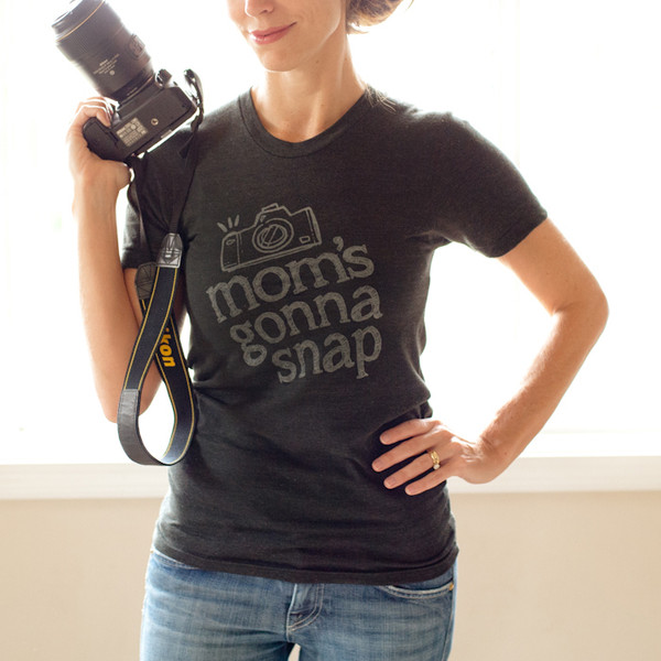 Mom's Gonna Snap Tee-UNISEX