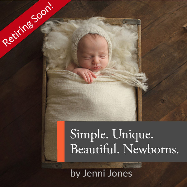 Simple. Unique. Beautiful. : Newborns with Jenni Jones