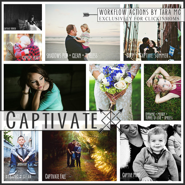Captivate Action Set by Tara Mc