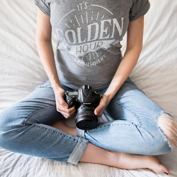 Golden Hour Tee-UNISEX