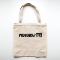 PhotograpHER Canvas Tote Bag