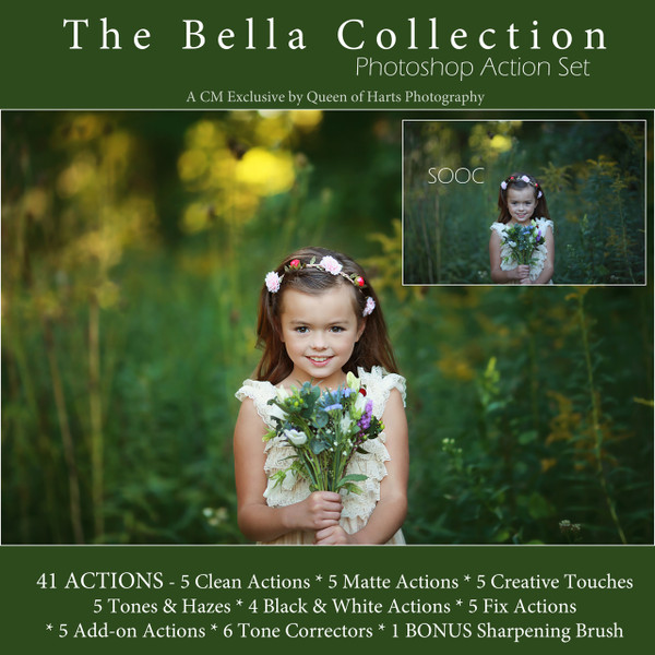 The Bella Collection Action Set by Queen of Harts Photography