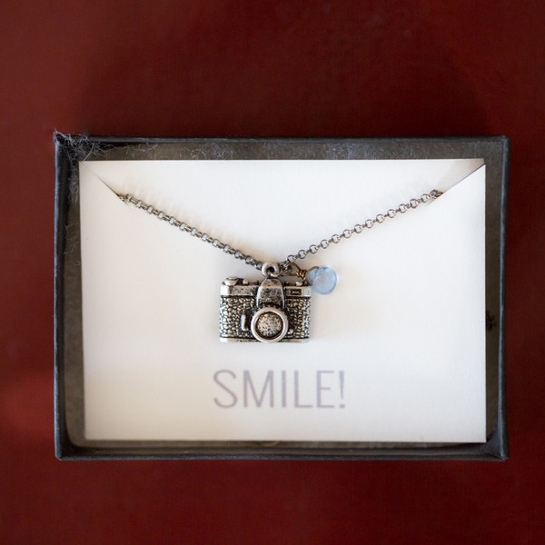 Harlow Camera Necklace