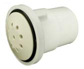 """Waterway Plastics Air Injector # 670-2330 1"""" Spigot White"""