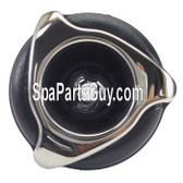 "12517 Dynasty Spas 3 1/4"" Directional Style Spa Jet Insert Stainless Over Black Face"