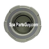 PLU21701240 Cal Spas Spa Insert Double Hole Pulsator Jet Large Face Gray ** N/A ** New Design
