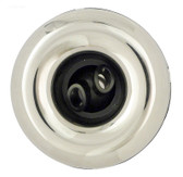 212-7841S Waterway Spa Mini Storm Twin Roto Jet Internal Stainless / White 3 5/16""