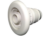 212-6100B  Waterway Spa Adjustable Poly Jet Internal Smooth Face  White 3 1/2""