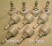 "218-6930  ( 10 Pack Special ) Waterway Spa Jet Diffuser Only For Mini Storm Jets Measures: 3-3/8""L x 1-3/4"" W"