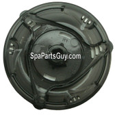 "14696 Dynasty Spa TLC Trix Handle for 2"" Diverter Valve & Translucent Black Measures 5"" Diameter"