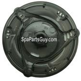 """14696 Dynasty Spa TLC Trix Handle for 2"""" Diverter Valve & Translucent Black Measures 5"""" Diameter"""