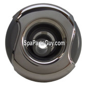 320-6744 Marquis Spa Directional Wave Jet Insert Stainless / Gray 3 5/16""