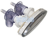 """PLU21800701 Cal Spas Waterfall Asssembly Silver / Clear 4"""""""