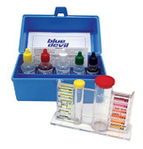 7448 Blue Devil  Spa 5 Way Liquid Test Kit OTO, Bromine/Chlorine, PH, Alkalinity, Acid Deman