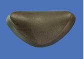 Great Lakes Spa Triangle Pillow Headrest Dark Graphite Gray
