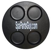 """Cal Spa Filter Lid 9 1/2"""" Black 1990-1995 Spas # 11300160"""