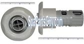 "320-6577 Marquis Spa Vari-Swirl Directional Jet Insert 3 1/2"" Gray 1998-1999"