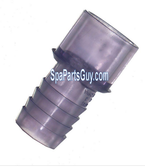 "130-4578S Hydro Air 3/4"" SPG x 3/4"" Barb Adapter Fitting"