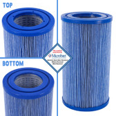 "Master Spas Spa EcoPur Micro Blast Cartridge Filter Same As : PMA10M 3 7/8"" x 7 1/8"""