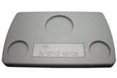 Artesian Spa Island Series Plastic Filter Lid Gray  26-0110-48