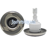 PL-40275SS LA Spa Jet Internal Twin Roto Stainless over Gray 3 1/2""