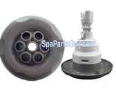 PL-37430 LA Spa Large Face Massage Jet Internal Gray 4""