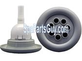 "PL-35182 LA Spa Pulsator Massage Jet Internal Gray Textured 5"""
