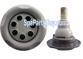 CMP Spa 500 Series Typhoon 7 Port Rotossage Jet Internal Gray 23452-749-900