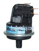 ELE09903071 CAL SPA SAFETY SUCTION VACUUM SWITCH Replaces Old Styles # ELE09500110, ELE09903070, Tec Mark  V4003P-DX