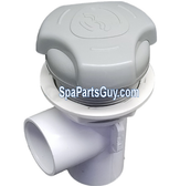"08-0011-52 Artesian Spa 1"" On / Off Waterfall Valve Assembly Gray Island Series Spas"