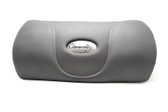 "Clearwater Spa Pillow Head Chair Gray  13"" x 6""  2 Pegs in Back"