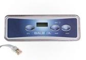 54135 Balboa Spa Topside Control Panel Freeflow VL401 LCD 3 Button Lite Duplex