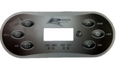 50015_13309 Pinnacle Plus Spa Topside Control Panel Balboa TP600CE 6 Button Includes Overlay Works with Balboa 56713 Control Pack