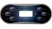 50015_13301 Premium Leisure Spa Topside Control Panel Balboa TP600CE 6 Button Includes Overlay Works with Balboa 56713 Control Pack