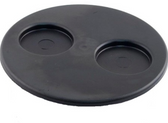 519-1081 Waterway Spa Filter Lid Plastic 2 Cup Holder Black