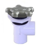 621-088 Gulfcoast Spa Waterfall Valve - On/Off 5 Star Design Gray 1""