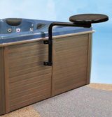 Hot Tub Rotating Snack Bar Table by Spa Ease