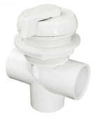 600-4340B Waterway Diverter Valve ( Notched ) White 1""